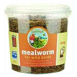 Freeze dried meal worms with high concentrate of protein.