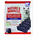 18 catch all recepticles. Seals and traps odors. Easy to remove and dispose. Maximum odor control.