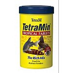 TetraMin Tablets is a highly nutritious food, which offers bottom dwelling fish, such as catfish and loaches, a varied diet to suit their particular needs. TetraMin Tablets contain essential nutrients and stabilized Vitamin C.