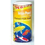 Tetra Flaked Fish Food is perfect for feeding your Goldfish and small Koi pond fish. Made to be easily digested and keeps the pond water cleaner and clearer. May be given to your fish in the Spring, Summer and Fall or when temperatures are 50°F and above.