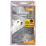 Starts killing fleas and ticks in as little as 1 hour, and continues to kill for 1 month. Prevents and controls reinfestation of listed pests for 30 days. Kills ticks that may transmit lyme disease, rocky mountain spotted fever, ehrlichiosis, babesiosis,