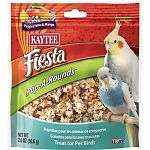 Satisfying flavors of mango and popped milo make for a healthy training and bonding aid for large and small hookbills. Human style treat with ingredients pet birds will love. Zipper closure to maintain freshness.