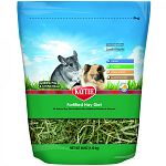 Fortified with nutrients, providing vitamins and minerals. Great for everyday feeding for your pet guinea pig or chinchilla. High fiber hay supports digestive health. Natural. No artifical colors or preservatives. Lower protein and calcium. Supports urina