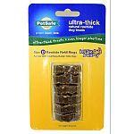 Ultra thick rawhide ring treat refills work with any of the busy buddy ultra toys. 4x thicker than the regular busy buddy rings. Last longer and are ideal for those tough chewers, for a longer lasting chewing experience. Fits busy buddy: ultra stratos (bc