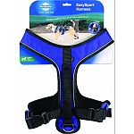 Fits dogs with girth of 28 to 42 inches, such as retrievers, shepherds and boxers. A great harness for daily wear Two adjustment points for maximum comfort Two quick-snap buckles for ease of use Convenient top leash attachment Padded handle for extra cont