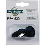 Includes long 3/4 and standard 1/2 probes, 2 angled grommets, 2 flat grommets, 4 screws, and 2 button caps Refresh your dogs in-ground or wireless fence collar Fits many petsafe collars, does not fit petsafe stay and play collars.