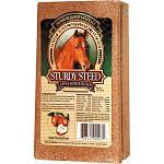 Your horses favorite supplement! This apple flavored supplement block with selenium is a treat for your horse and it also provides valuable equine minerals. Provide on a free choice basis and your steed will enjoy licking.