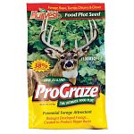 New Zealand ProGraze Perennial Forage Attractant Biologist developed forage... is a premium mixture of PERENNIAL and ANNUAL forage seed developed especially for deer under the guidance of wildlife biologists in New Zealand.
