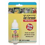 Kwik Stop gel is an aid to stop bleeding caused by clipping nails, docking tails and trimming beaks and minor cuts. Pressure bandaging to be used in conjunction with product following tail docking. Use on dogs, cats and birds.