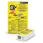 Kills house mice,roof rats and Norway rats. Contains rodents' favorite foods – grains and seed.  Each disposable bait station is preloaded with a 0.5 oz block of Just One Bite EX mouse bait
