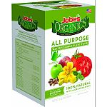 5-0-3 all-purpose water soluble plant food For use in watering cans and hose end sprayers Exclusive jobes biozome formula 100% natural with microorganisms