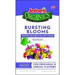 3-3-3 bloom burst water soluble plant food Formulated for all annual and perennial flowers Exclusive jobes biozome formula provides great results with less owrk For use in watering cans and hose end sprayers Makes up to 30 gallons