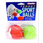 Various balls designs give pet s variety and allow owners toshow their appreciation of the game. Bells in toys, surrounded by soft fleece, are sure to make for ferret fun. Inspect ferret toys regularly to ensure they are intact. Continual rough use may ma