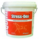 Top trainers & veterinarians have trusted Stress-Dex oral electrolyte powder since 1968. Formulated specifically for the performance horse, Stress-Dex contains the perfect blend of electrolyte salts & minerals to replenish the horse's body.