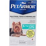 Kills fleas, ticks, and chewing lice Kills ticks including those that may transmit lyme disease Fast action, lasting control and water proof For use only on dogs and puppies over 8 weeks of age weighing 5 pounds to 22 pounds