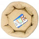 Cat self warming bed - spice/creme