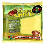 Zoo Med Hermit Crab Sand is a calcium carbonate sand substrate in four natural pigmented colors (no paint or dye used in processing). 2 lbs.