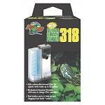 Zoo Med Save Your Reptiles New Turtle Clean Filter 318. Fully submersible internal filter for aquatic turtle tanks up to 30 gallons. Mechanical/chemical filtration with easy to change filter cartridges.