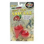Extra shell for hermit crab to change into.  Always provide extra shells to facilitate shell changing in hermit crabs. These come in neon colors such as green, yellow, red, and blue. Your shells will be in a