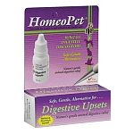 A homeopathic formula that provides relief for cats that throw up 20 minutes after eating or dogs with gas. Vomiting or diarrhea are quickly relieved.