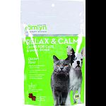 Specifically formulated for cats and small dogs Supports balanced behavior, relaxation, and reduced hyperactivity Ideal for travel, separation, storms, and loud noises Contains high levels of l-tryptophan, chamomile, and ginger Made in the usa