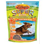 Nutritious soft superfood dog treats with added vitamins and minerals. Made with betacarotene rich veggies. Wheat, corn and soy free. Special veggie blend, low gluten oats, and a delicious taste. Made in the usa.