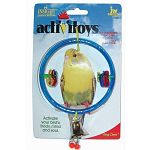 Your pet bird will love this fun and entertaining toy from JW Pet Company. Not only does the Insight ActiviToys Clear Ring provide your pet bird with entertainment, but stimulates your bird mentally and physically. Great for keeping boredom away!