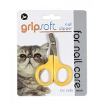 JW Pet's Cat Nail Clipper helps to keep your indoor cat's nails neat and trim and helps to prevent scratches from nails. This clipper is an essential grooming tool for any cat owner. Scissor style clippers have a soft rubber cover on handles.
