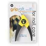 A trimmer with large breeds in mind. Guillotine style blade is stronger than smaller clippers to handle thicker nails. Features soft rubber coated handles for a comfortable, slip-free grip.