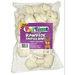 Natural flavor rawhide bones are a treat your precious pooch, who is sure to thank you eagerly.
