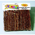 Rawhide munchy flat bars for dogs - 50 pack.    Natural rawhide value pack. Great deal, great treat.