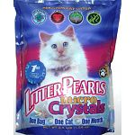 Crystal clear litter pearls is a revolutionary litter product that delivers a new dynamic and completely innovative category. Absorb moisture instantly and leaves litter dry to the touch. Eliminates odor on contact. All natural, 100% chemical free. Comple