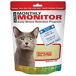 Easy to use- works with all types of litter Simply pour on top of a newly filled litter box After your cat uses the litter box, wait at least 10 minutes Compare the color of the monthly monitor crystals to the color scale. If the crystals are an abnormal