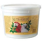 Lafeber s Nutri-Berries - The food that doesn t underestimate your bird s good taste...or intelligence. Nutri-Berries are different. They re made with savory peanuts, hulled canary seed, cracked corn and other tempting ingredients.