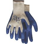 Boss FLEXIgrip Gloves have an ergonomic design that helps to reduce strain on your hands while working in the garden or doing other household chores. Made with a textured latex coating on the palm for a good grip. Back is made of breathable poly/cotton.