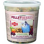 Veterinarian recommended food wih cranberries, apricots and dates. The science of pellets and the natural enrichment of fruits and grains.