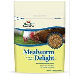 Wholesome and delicious! Dehydrated/dried bugs for feeding to chickens. Resealable package.