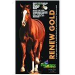 One way Renew Gold reduces starch is by using stabilized rice bran as a base, a practice they pioneered in the equine industry.