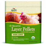 Complege feed for laying hens Ideal nutrition and quality for a natural, happy, and productive flock Ideal size for backyard flocks Certified organic and made with non-gmo ingredients 16% protein Made in the usa
