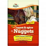 Bite-sized nugget treats for training or rewards Nutritious and wholesome, but will not imbalance your normal feeding ration Perfect reward after a ride or competition Made in the usa