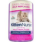 Easy-to-mix milk replacer formulated to replace mothers milk for newborn kittens, pregnant/lactating cats, and show cats Supports sound growth and developement For convalescing, underweight, and lactating cats Blended oils for coat conditioning