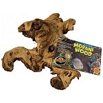 Ornament for aquariums. Beautiful, natural wood ornament that fish love to swim through. Mopani Wood / choose size.