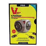 The Victor Heavy Duty Sonic PestChaser emits high frequency sound waves that effectively repel rodents from protected areas. For use in average-sized rooms, kitchens, garages, attics and basements. 6' cord enables ideal placement.