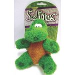 Booda Softies Terry Toby Dog Toy is a plush pint sized toy that is perfect for your dog and puppy. Covered in a soft fabric, your dog will love to cuddle and carry this little turtle!