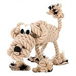Charming personality & durable construction make the lovable roopers a family of toys both pets & their owners will enjoy. Sculptured rope toy is a piece of art that comes to life with its own unique personality and story.