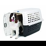 The unique slide n snap assembly with no tools required takes only seconds Increased ventilation, doorway size, and a 2-way opening door with dual turn-dial door latches provide extra comfort for pets Nut and bolt compatible for airline travel Pet parents