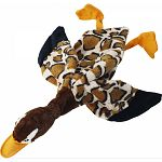 Part of the barnyard Skinneez series. Your dog will enjoy hours of entertainment flip flopping these stuffing free Skinneez toys all over. Each toy features 2 squeakers - one in the head and one in the tail. Small: 14 inches / Large 24 inches
