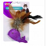 Fun feather and animal detail will keep your cat busy Designed to appeal to your cats natural instinct for play and exercise