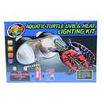 Let zoo med help you get started on your turtle s aquarium with aquatic turtle uvb & heat lighting kit Includes: mini combo deep dome lamp fixture, turtle tuff (50 watt), reptisun 5.0 mini compact fluorescent (13 watt)
