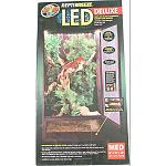 Reptibreeze led deluxe is an open air, screen enclosure that allows for ample air circulation Ideal habitat for reptiles such as chameleons, crested geckos, and more Made with an aluminum frame and screen that resists rust, this habitat has two doors on t